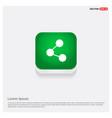 network icon green web button vector image
