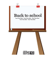 The Drawing Board Background vector image vector image