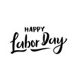 united states labor day celebrate card template vector image vector image