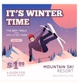 Winter Sport Poster vector image