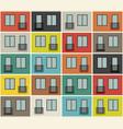 building facade pattern vector image