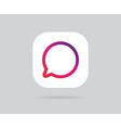App Icon Template Gradient Fresh Color vector image vector image