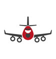 avia transportation logistics aircraft or plane vector image vector image