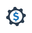 business service icon vector image