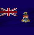 cayman islands flag flag of cayman islands vector image