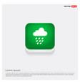 cloud raining icon vector image
