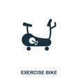 exercise bike icon premium style icon design ui vector image