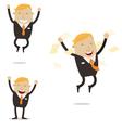 Happy Free Businessman vector image vector image