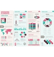 Infographic Design Set vector image