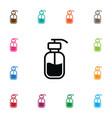 Isolated lotion icon hand sanitizes