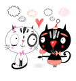 love kittens vector image
