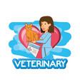 medicine for animals in veterinary vector image