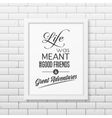 Quote Typographical Background vector image vector image