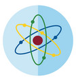 structure atom or smallest unit the vector image