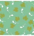 Vine pattern vector image vector image