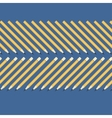background of the simple yellow pencils on a blue vector image