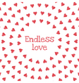 endless love vector image vector image
