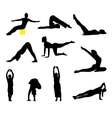 Fitness and Yoga vector image vector image