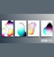 gradient minimal design for background wallpaper vector image vector image
