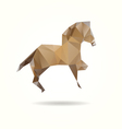 Horse isolated on a white background vector image