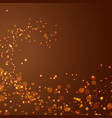 magical glittering christmas abstract background vector image