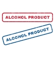 Alcohol Product Rubber Stamps vector image vector image