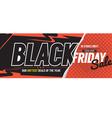 Black Friday Sale Marketing Promotion Banner vector image