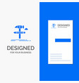 business logo for build design develop tool tools vector image