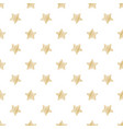 festive seamless background with gold stars vector image vector image