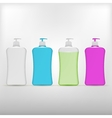 liquid soap vector image vector image