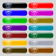 Lock icon sign Set from fourteen multi-colored vector image vector image