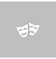 masks computer symbol vector image vector image