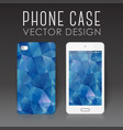 mobile phone cover vector image