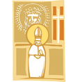 Pope and Christian Images vector image vector image
