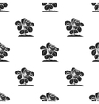 Strawberry icon in black style isolated on white vector image vector image