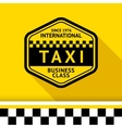 Taxi badge 12 vector image vector image