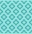tiffany jade and seafoam ornamental swirl vector image