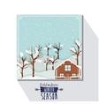 winter season design vector image vector image