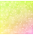 spring background with bokeh vector image