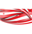 canada banner background flag vector image vector image