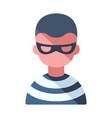 thief flat vector image