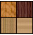 4 wood texture vector image