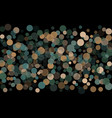 abstract background confetti transparent dots vector image vector image