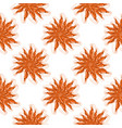 cooked red shrimps seamless pattern vector image