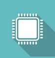 cpu microprocessor vector image