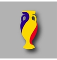 sport competition cup Romania participant vector image vector image
