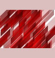 abstract bright shiny red tech background vector image vector image