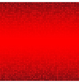 Abstract Red Technology Background vector image vector image
