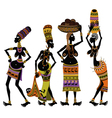 Africans womens vector image vector image