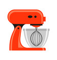 icon kitchen mixer vector image